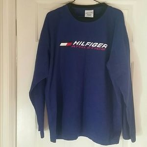 Tommy Hilfiger Long Sleeve Athletic Shirt size L